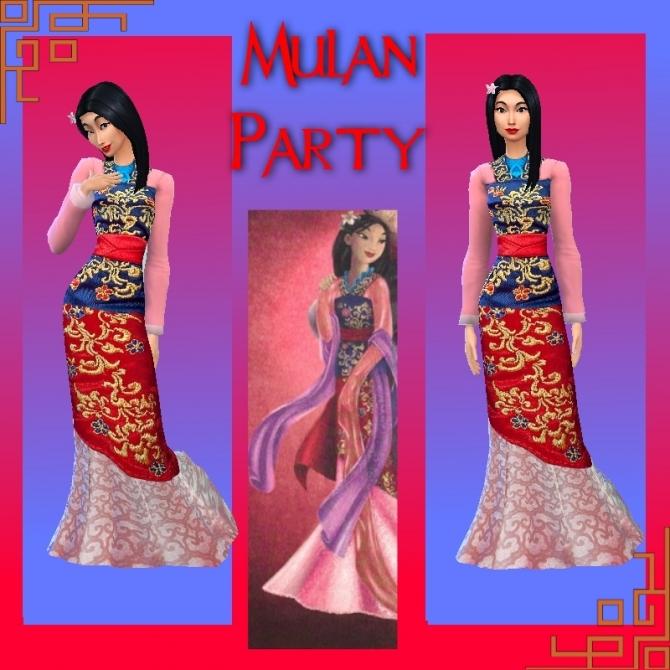 Mulan Amp Li Shang By Mickeymouse254 At Mod The Sims 187 Sims