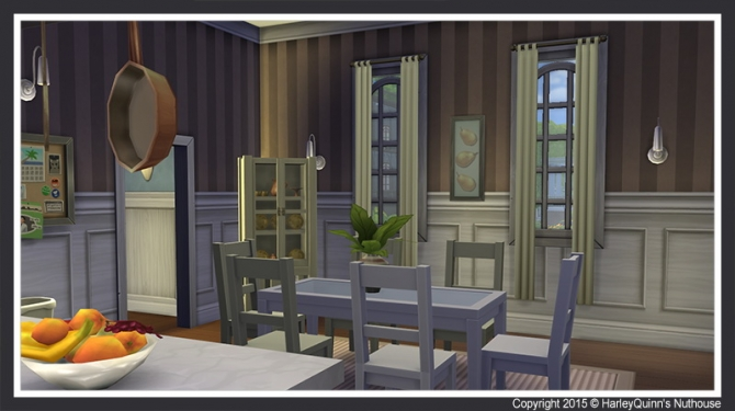 Sims 4 The Greystone house at Harley Quinn's Nuthouse