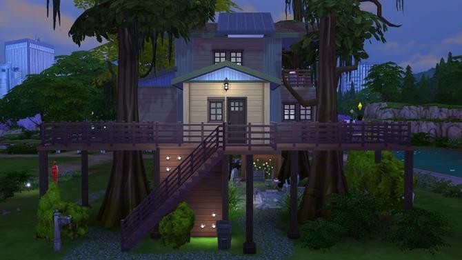 Eco Treehouse at Sophia Virtual Estate image 701 Sims 4 Updates