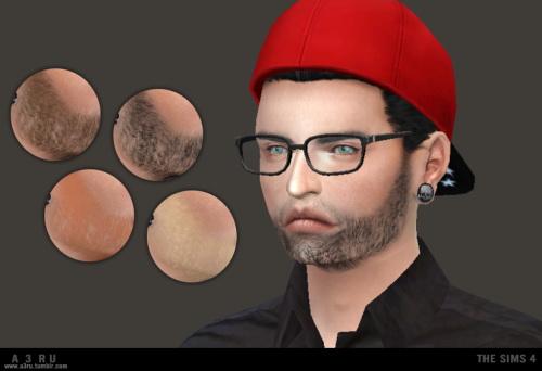 Sims 4 Facial Scruff F68 at A3RU