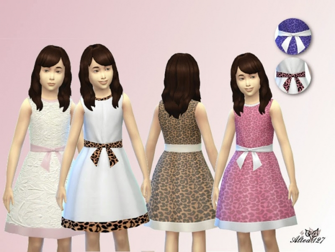 Sims 4 Formal dress at Altea127 SimsVogue