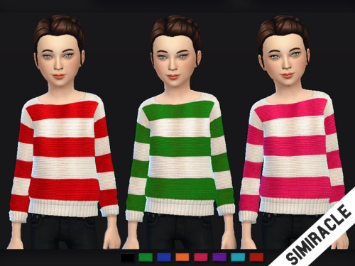 Sims 4 Knit Sweaters at Simiracle