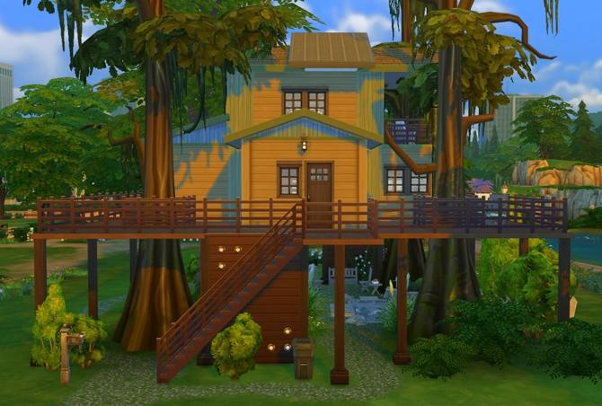 Eco Treehouse at Sophia Virtual Estate image 711 Sims 4 Updates