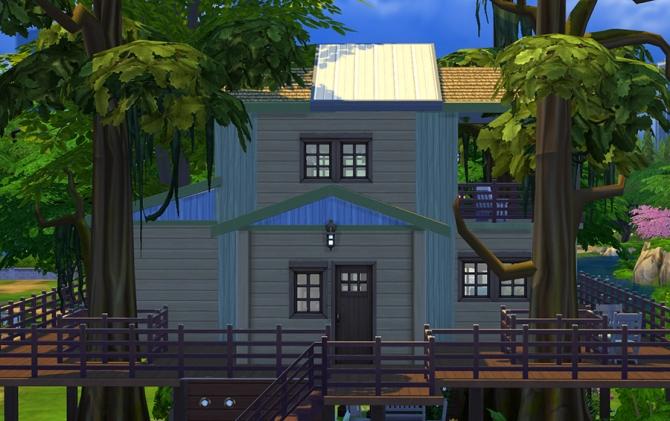 Eco Treehouse at Sophia Virtual Estate image 721 Sims 4 Updates