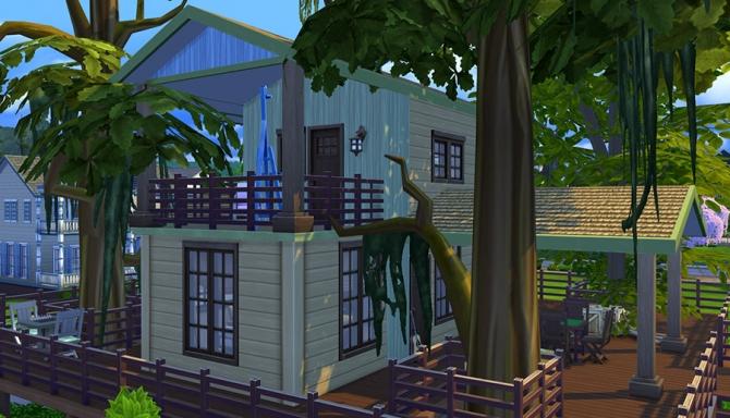 Eco Treehouse at Sophia Virtual Estate image 731 Sims 4 Updates