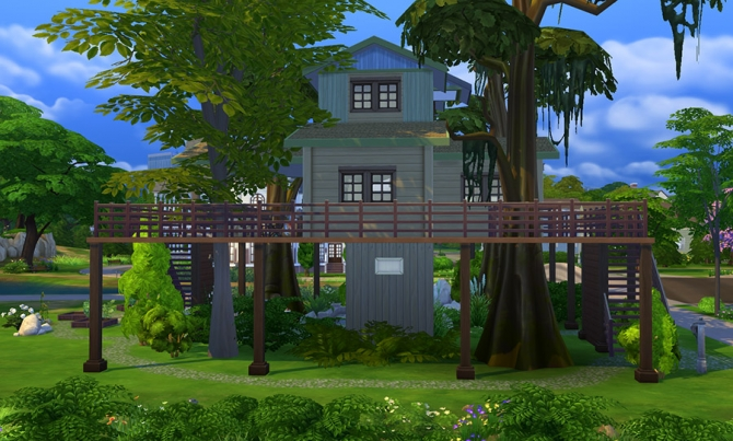 Eco Treehouse at Sophia Virtual Estate image 741 Sims 4 Updates