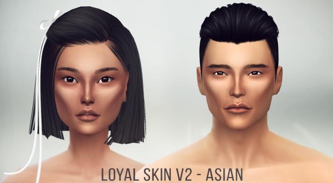 Loyal Skin V2 Asian at S4 Models image 742 Sims 4 Updates