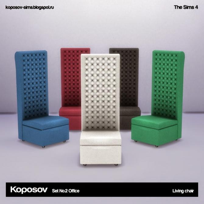 Sims 4 Office set no.2 at Koposov