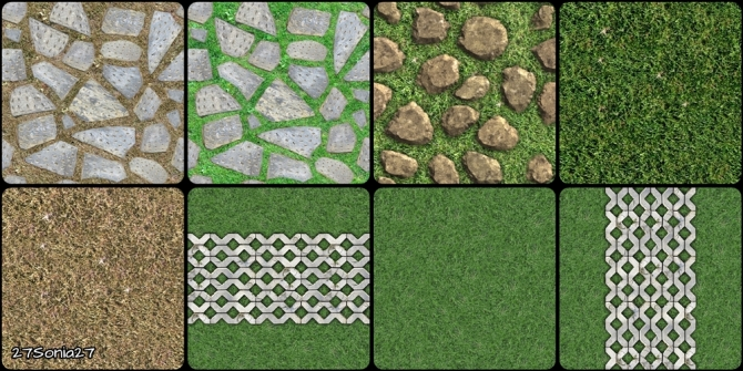 Grass And Stone Terrain Paints At 27sonia27 187 Sims 4 Updates