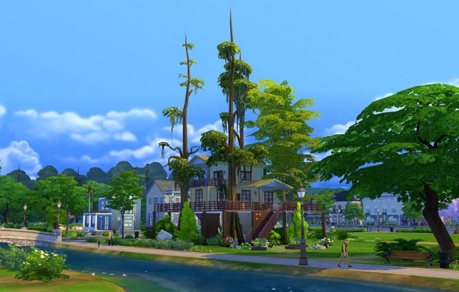 Eco Treehouse at Sophia Virtual Estate image 761 Sims 4 Updates