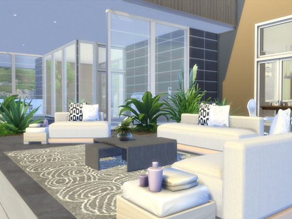 Footprints house by chemy at TSR image 7618 Sims 4 Updates