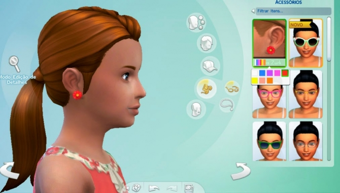 Flower Earrings at My Stuff image 777 Sims 4 Updates