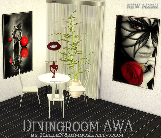 AWA  Diningroom by Hellen at Sims Creativ image 789 Sims 4 Updates
