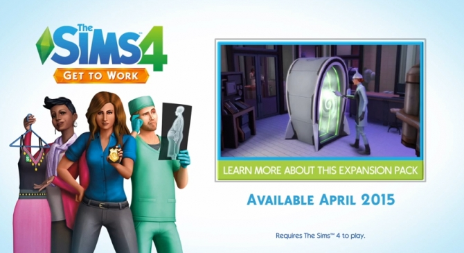 Get to Work! The First Expansion Pack announced at The Sims™ News image 792 Sims 4 Updates