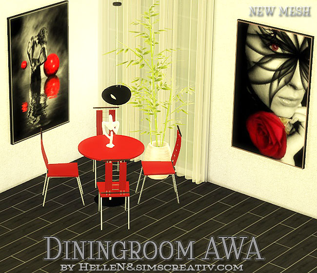 AWA  Diningroom by Hellen at Sims Creativ image 798 Sims 4 Updates