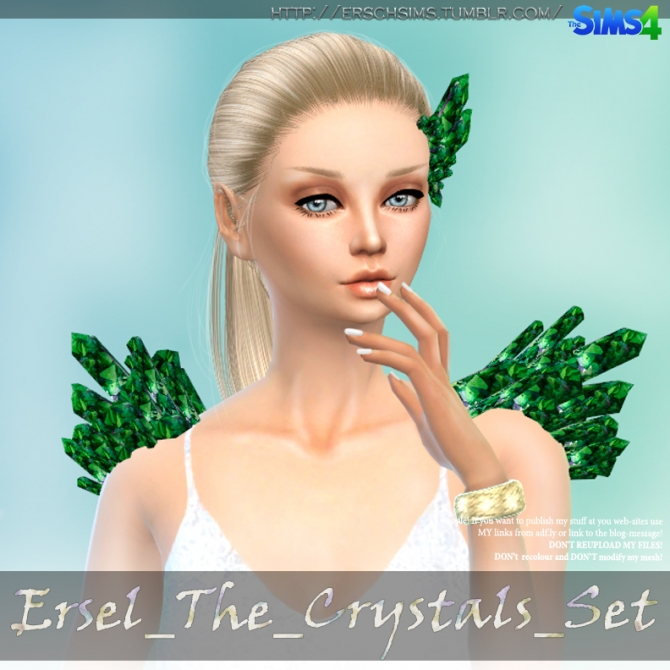 Sims 4 Ersel The Crystals at ErSch Sims