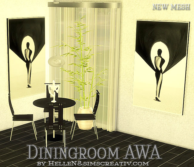 AWA  Diningroom by Hellen at Sims Creativ image 808 Sims 4 Updates