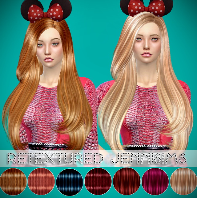 Sims 4 Butterflysims 092 Hair retextured at Jenni Sims