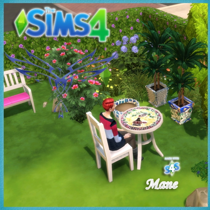 Sims 4 Tiles and mosaics set at El Taller de Mane