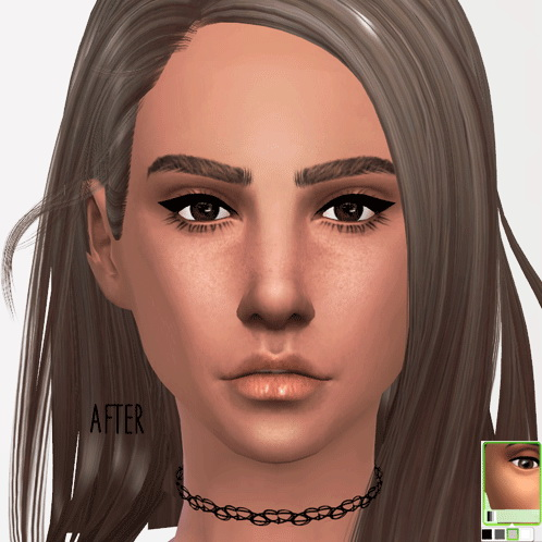 Blush, brows, eyes and clothing at InDistrict 12 image 83 p1 Sims 4 Updates