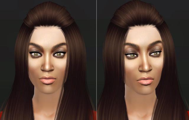 Sims 4 Tyra Banks the smize queen at Lunararc