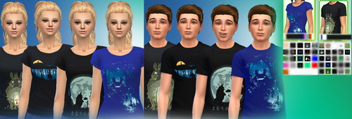 Sims 4 February Tops Pack at Aurimon