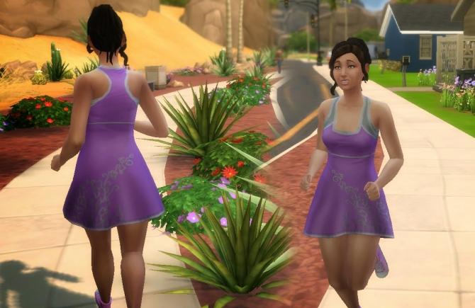 Sims 4 Sporty Dress at My Stuff