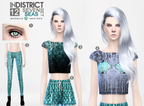 Blush, brows, eyes and clothing at InDistrict 12 image 881 Sims 4 Updates