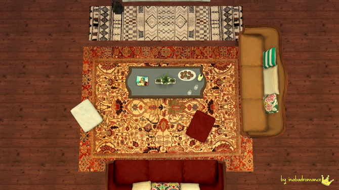 Sims 4 Rugs at In a bad Romance