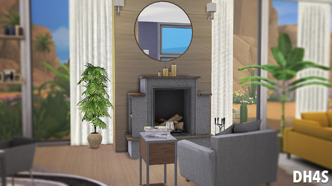Sims 4 37 Sea Caves Avenue, Cyprus house by Samuel at DH4S
