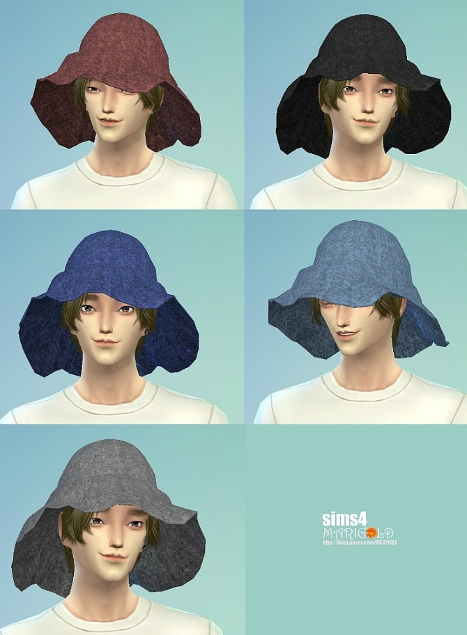 Top, dresses, hat and bracelet at Marigold image 9116 Sims 4 Updates
