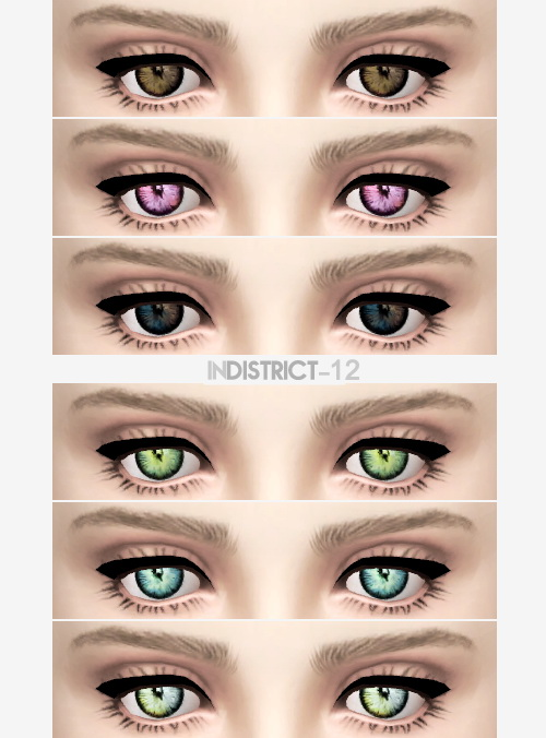 Blush, brows, eyes and clothing at InDistrict 12 image 912 Sims 4 Updates