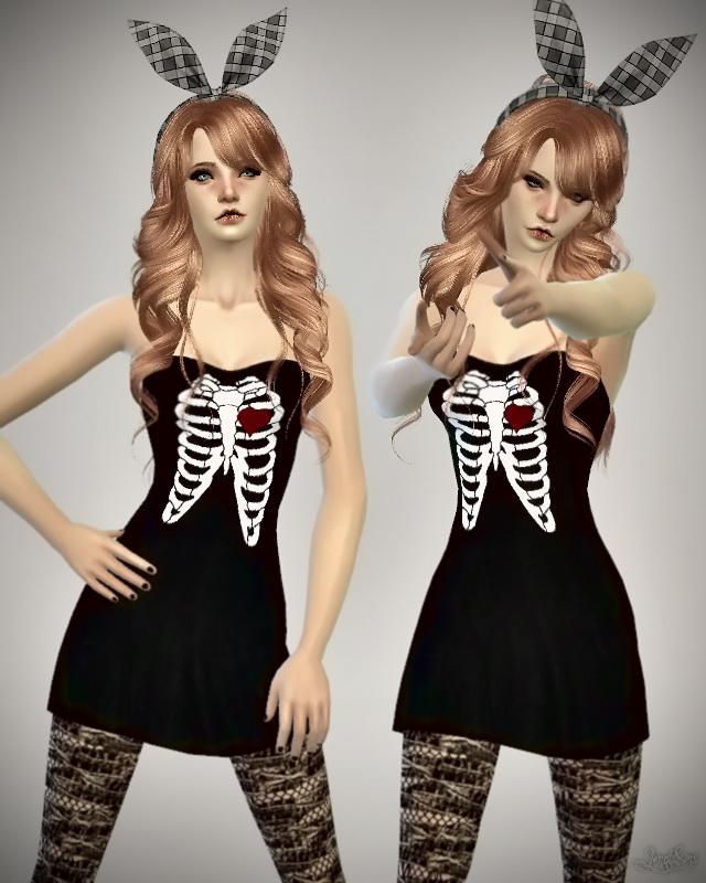 Sims 4 Bow Heart Breaker at Jenni Sims
