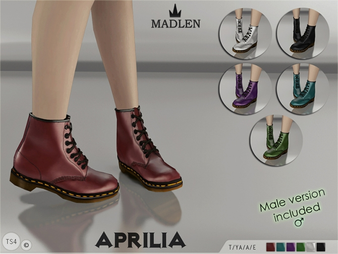 Madlen Aprilia Boots by MJ95 at TSR image 933 Sims 4 Updates