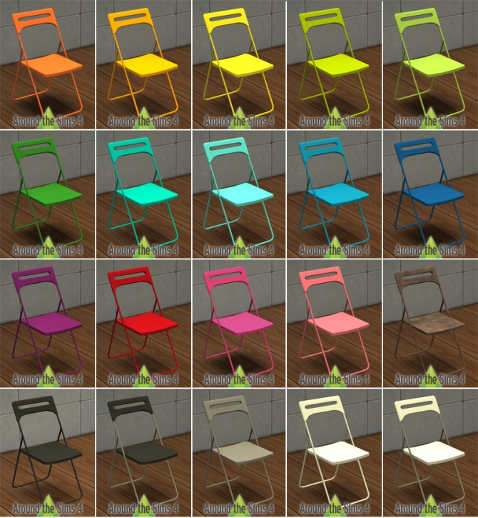 Around The Sims 4 Ikea Dining Chairs Simplicy Table Wood
