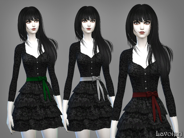 Anachronism Dress by Lavoieri at TSR image 953 Sims 4 Updates