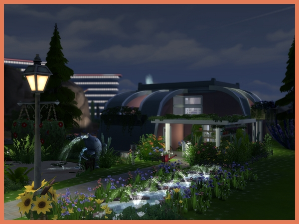 Sims 4 Spring Curve house by Maxi Sims at Akisima