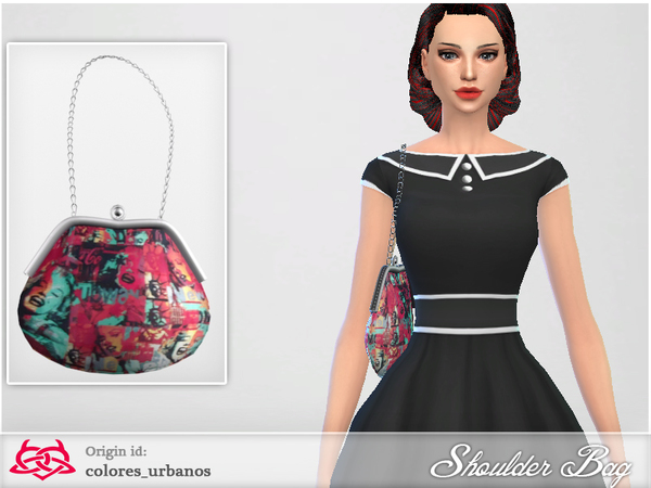 Shoulder Bag 03 by Colores Urbanos at TSR image 1039 Sims 4 Updates