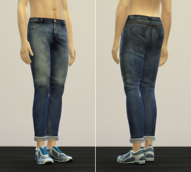 Jeans V2 For Males At Rusty Nail 187 Sims 4 Updates