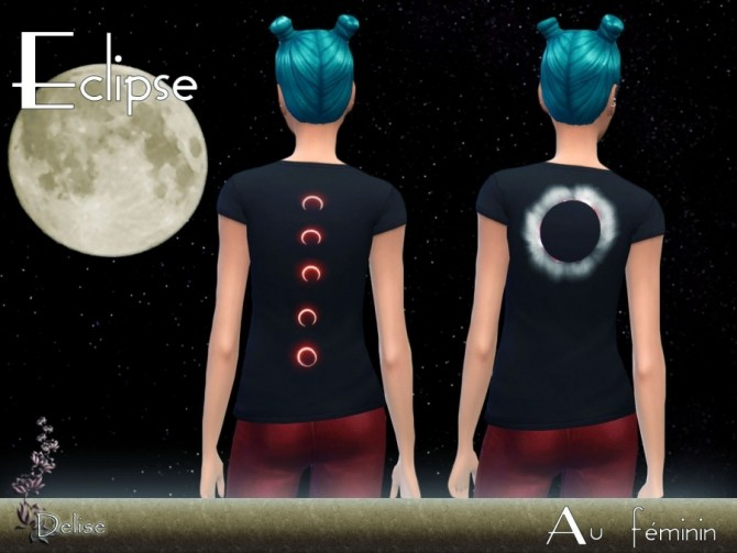 T SHIRTS ECLIPSE by Delise at Sims Artists image 10413 670x503 Sims 4 Updates