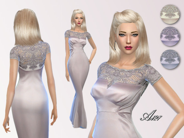 Aurora dress at Altea127 SimsVogue image 10431 Sims 4 Updates
