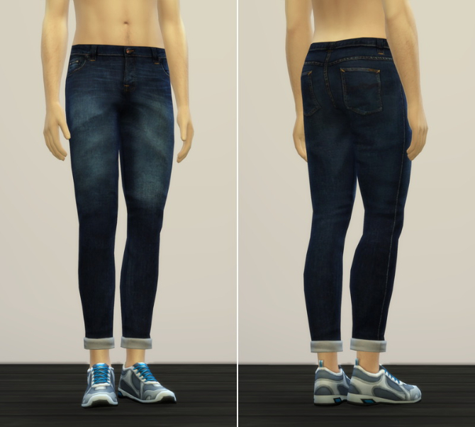Sims 4 Jeans V2 for males at Rusty Nail