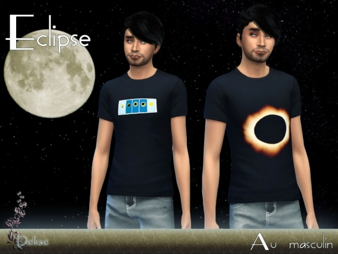 T SHIRTS ECLIPSE by Delise at Sims Artists image 10512 670x503 Sims 4 Updates