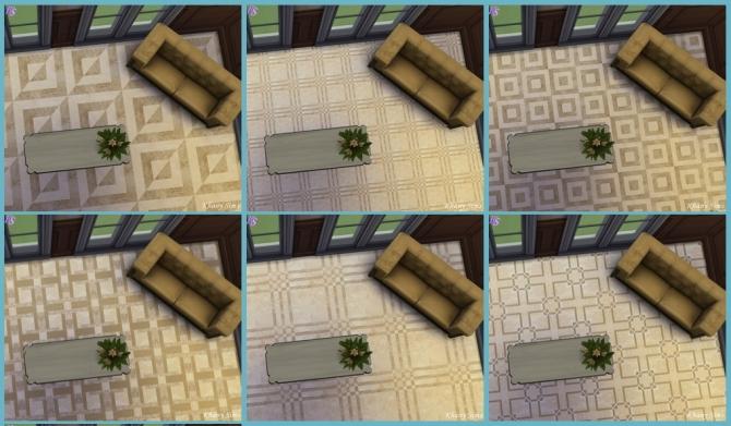 Sims 4 Italian marble tiles at Khany Sims