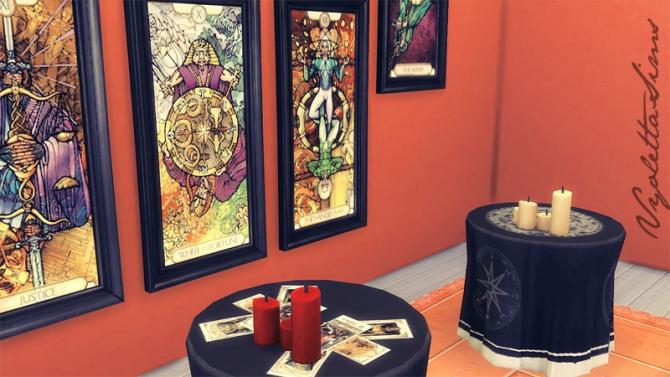 Sims 4 3 Witch tables at Mandarina's Sim World