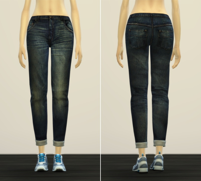 Jeans V2 for females at Rusty Nail image 1089 Sims 4 Updates