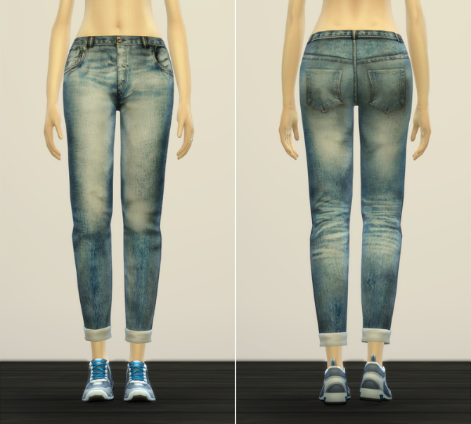 Jeans V2 for females at Rusty Nail image 10910 Sims 4 Updates
