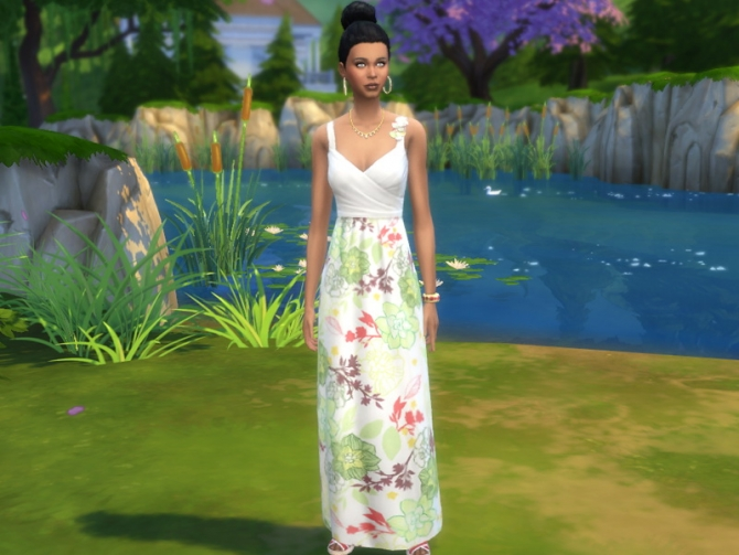 Sims 4 New Spring Collection by Poupouss at Sims Artists