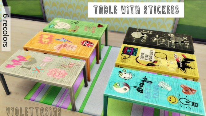 Innovative My Sims 4 Blog TS3 Zveki And Pocci Tables Desk In 24