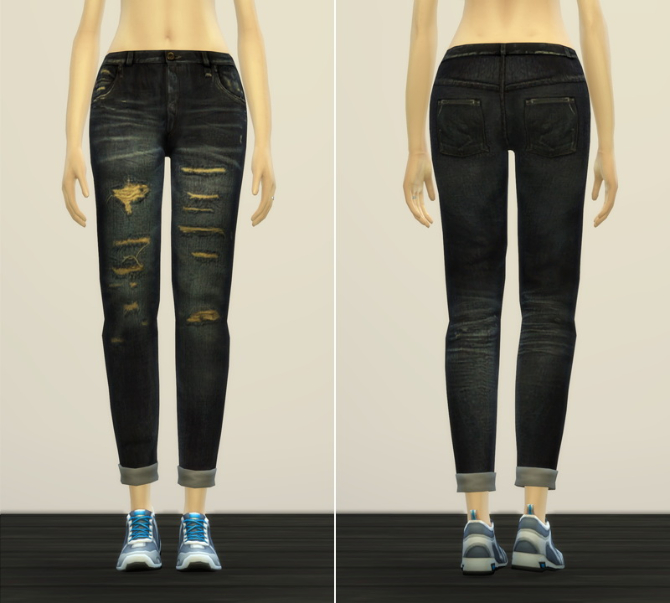 Jeans V2 for females at Rusty Nail image 11014 Sims 4 Updates